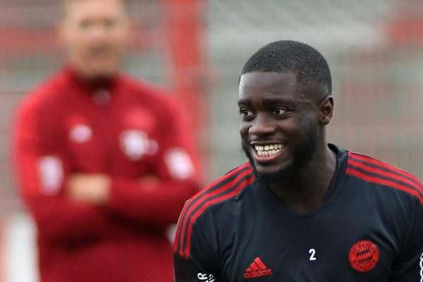 Dayot Happy plays for the Bayern Munich for the first time.