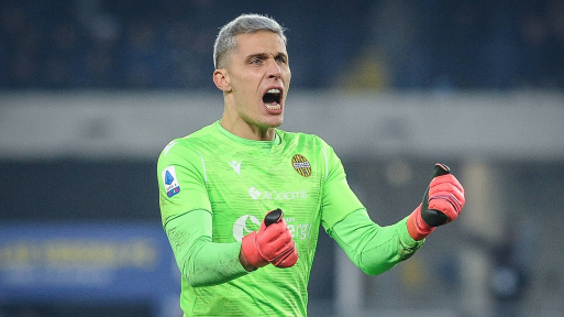 Udinese are reportedly set to sign Hellas Verona goalkeeper
